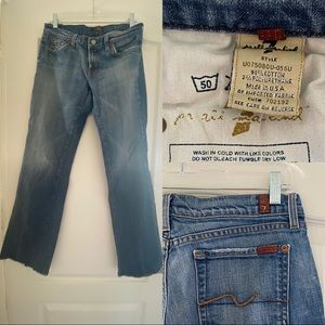 7ForAllMankind Bootcut Jeans size 30